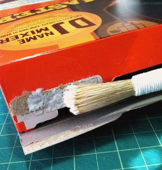 Cereal Box Gluing