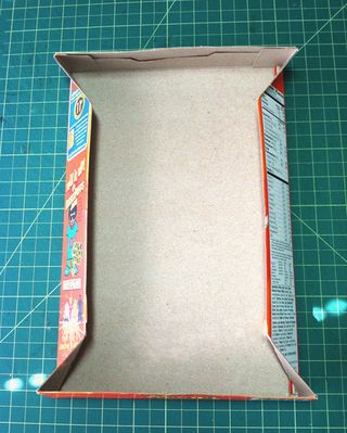 Cereal Box Folded